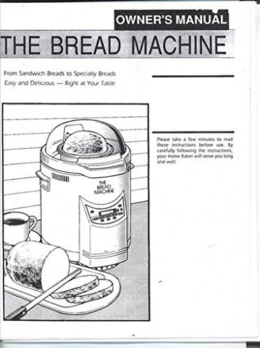 dak bread machine